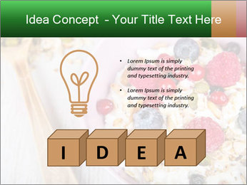Muesli With Berries PowerPoint Template - Slide 80