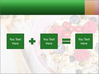 Muesli With Berries PowerPoint Template - Slide 95