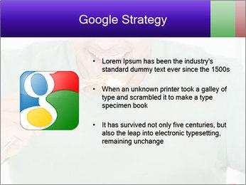 Man Having Lunch PowerPoint Templates - Slide 10