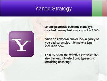 Man Having Lunch PowerPoint Templates - Slide 11