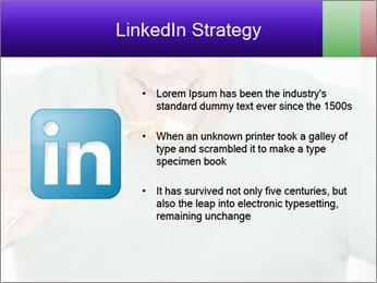 Man Having Lunch PowerPoint Templates - Slide 12