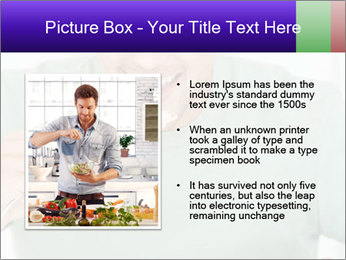 Man Having Lunch PowerPoint Template - Slide 13