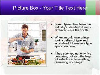 Man Having Lunch PowerPoint Templates - Slide 13