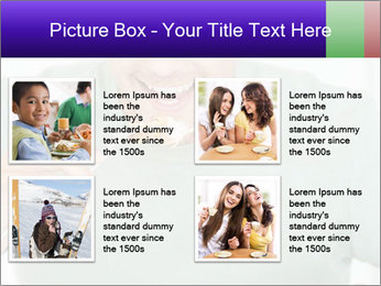 Man Having Lunch PowerPoint Template - Slide 14