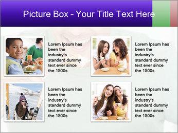Man Having Lunch PowerPoint Templates - Slide 14