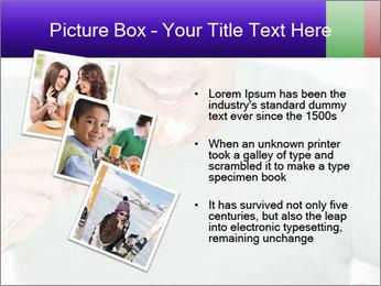 Man Having Lunch PowerPoint Templates - Slide 17