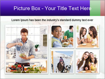 Man Having Lunch PowerPoint Template - Slide 19