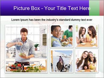 Man Having Lunch PowerPoint Templates - Slide 19