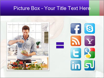 Man Having Lunch PowerPoint Template - Slide 21