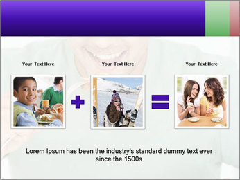 Man Having Lunch PowerPoint Template - Slide 22