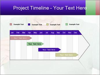 Man Having Lunch PowerPoint Templates - Slide 25