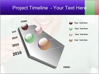 Man Having Lunch PowerPoint Templates - Slide 26