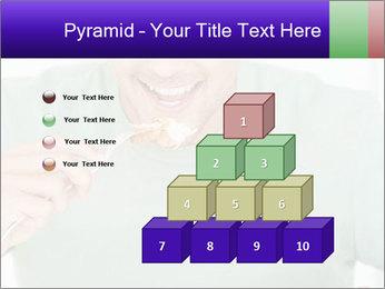 Man Having Lunch PowerPoint Templates - Slide 31