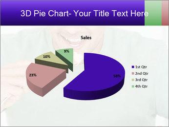 Man Having Lunch PowerPoint Templates - Slide 35