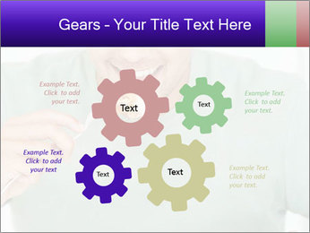 Man Having Lunch PowerPoint Templates - Slide 47