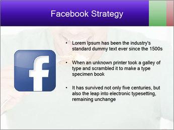Man Having Lunch PowerPoint Templates - Slide 6