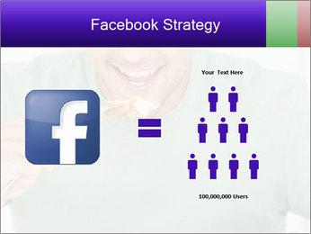 Man Having Lunch PowerPoint Templates - Slide 7