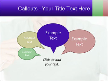 Man Having Lunch PowerPoint Templates - Slide 73