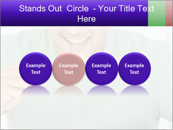 Man Having Lunch PowerPoint Templates - Slide 76