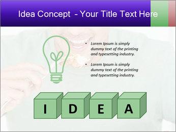 Man Having Lunch PowerPoint Templates - Slide 80