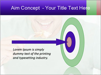 Man Having Lunch PowerPoint Template - Slide 83