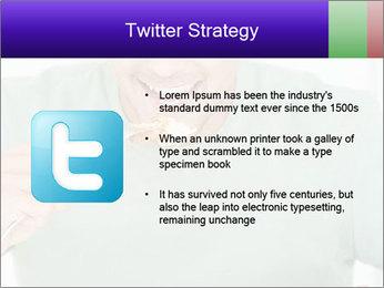Man Having Lunch PowerPoint Templates - Slide 9