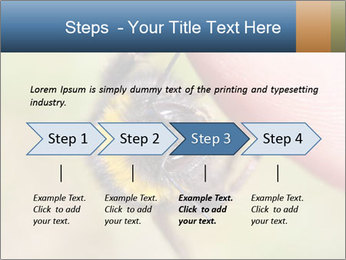 Macro Bee PowerPoint Template - Slide 4