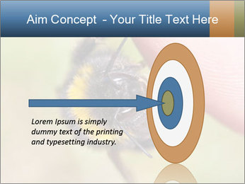 Macro Bee PowerPoint Template - Slide 83