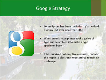 Regents Canal PowerPoint Template - Slide 10