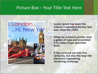 Regents Canal PowerPoint Template - Slide 13