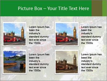 Regents Canal PowerPoint Template - Slide 14