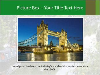 Regents Canal PowerPoint Template - Slide 15