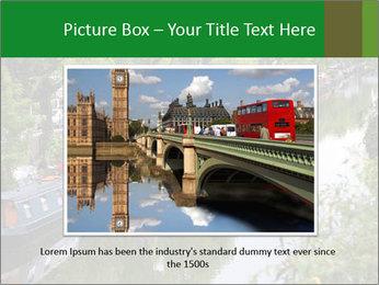 Regents Canal PowerPoint Template - Slide 16