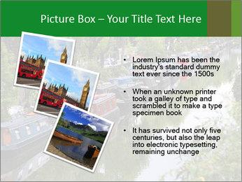 Regents Canal PowerPoint Template - Slide 17