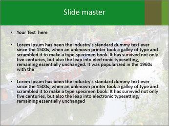 Regents Canal PowerPoint Template - Slide 2