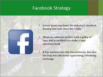 Regents Canal PowerPoint Template - Slide 6