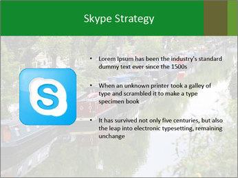 Regents Canal PowerPoint Template - Slide 8