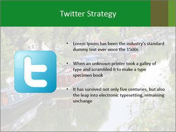 Regents Canal PowerPoint Template - Slide 9