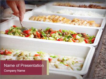 Salads PowerPoint Templates - Slide 1