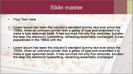 Salads PowerPoint Template - Slide 2