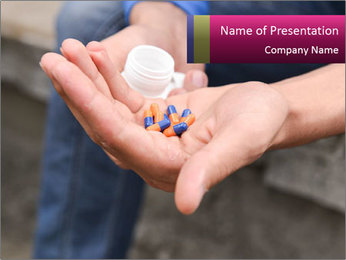 Pills PowerPoint Template - Slide 1