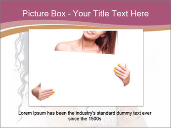 Joyful African Woman PowerPoint Template - Slide 15