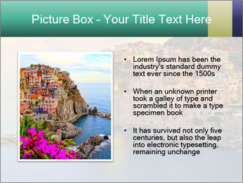 Italian Seaside Village PowerPoint Template - Slide 13