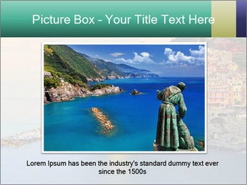 Italian Seaside Village PowerPoint Template - Slide 15