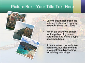 Italian Seaside Village PowerPoint Template - Slide 17