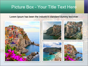 Italian Seaside Village PowerPoint Template - Slide 19