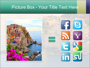 Italian Seaside Village PowerPoint Template - Slide 21