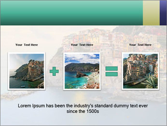 Italian Seaside Village PowerPoint Template - Slide 22