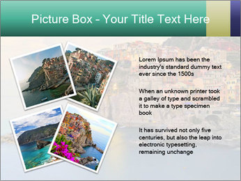 Italian Seaside Village PowerPoint Template - Slide 23