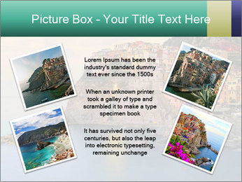 Italian Seaside Village PowerPoint Template - Slide 24